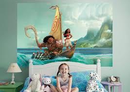 Moana Fathead Wall Mural Disney Mural Disney Wall Murals Disney Themed Nursery
