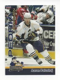 Aaron Palushaj 2009-10 Peoria Rivermen Örebro HK AHL cimsa.uy