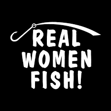 Real Women Fish Fishing Accessories Vinyl For Auto Car Bumper Window Vinyl Decal Sticker Decals Diy Decor Ct1482 Car Stickers Aliexpress