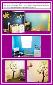 Abstract Nursery Decals Animal Wall Art Wall Decals For Kids Nurserydecals4you