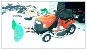 snow plows for lawn mower