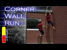 how to corner wall run parkour