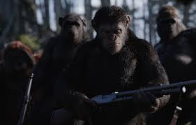 wallpaper cinema gun monkey forest