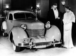 1935 Cord 810 Westchester Sedan Show Car