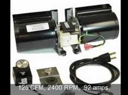 fireplace blower heat n glow gfk 160a