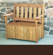 3 ft english garden bench with storage