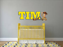 Toy Story Woody Personalized Custom Name Wall Sticker Decal Wp29 Decalz Co
