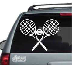 Tennis Decals Stickers Decal Junky
