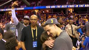 Klay and Mychal Thompson: Father's Day - YouTube