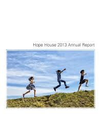 Hope House Annual Report 2013 by Hope House - issuu