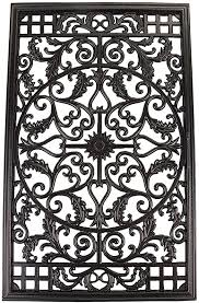 Amazon Com Nuvo Iron Rectangular Decorative Insert For Fencing Gates Home Garden Acw61 Outdoor Decorative Fences Garden Outdoor