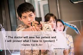 descendants of the sun quotes and chessy lines com