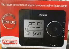 warmup manual control thermostat