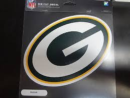 Green Bay Packers Colored Window Die Cut Decal Wincraft Sticker 8x8 Nfl 1747907937