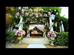 best garden wedding decoration ideas