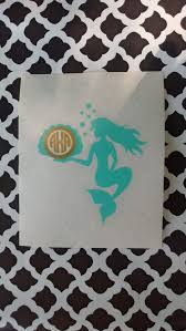 Mermaid Monogram Mermaid Decal Mermaid Yeti Decal Monogrammed Etsy Mermaid Decal Monogram Decal Yeti Vinyl Decal Stickers