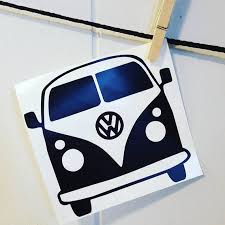 Volkswagen Car Decal Volkswagen Decal Vw Car Decal Volkswagen Etsy