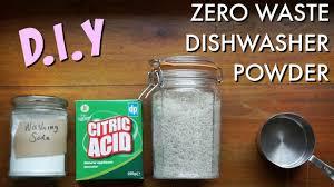 diy zero waste dishwasher powder kate