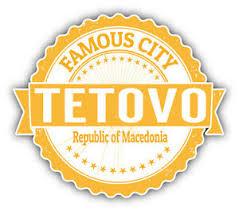 Tetovo City Macedonia Grunge Travel Stamp Car Bumper Sticker Decal 5 X 4 Ebay