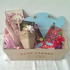 garden gift hamper for her birthday mum