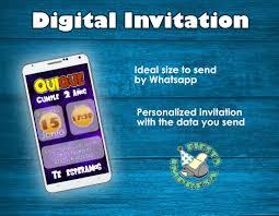 Dragon Ball Super Digital Invitacion Envio Whatsap Artesanum