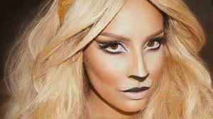 lion makeup desi perkins