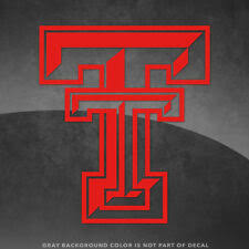 Texas Tech Red Raiders White Ncaa Decals For Sale Ebay