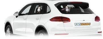 Porg Passenger Window Decal Fanwraps