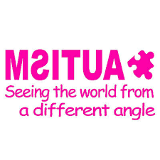 7 Hot Pink Vinyl Decal Window Sticker Autism Seeing The World Ushirika Coop