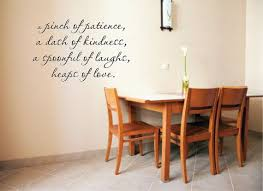 A Pinch Of Patience A Dash Of Kindness A Spoonful Of Laughs Etsy Vinyl Wall Decals Kitchen Kitchen Wall Decals Vinyl Wall Decals