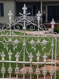 Old Iron Fence I Found On Craigslist Jackpot Pallet Fence Iron Fence Panels Iron Fence