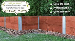 Retaining Wall Posts Centenary Landscaping Supplies