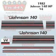 Boat Parts 1985 Johnson 140 Hp V4 Sea Horse Outboard Reproduction 10 Pc Marine Vinyl Decals Complete Outboard Engines Aikidosummercamp Com