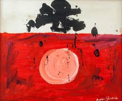 Adolph Gottlieb American Abstract Oil on Canvas | 888 Auctions