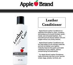apple leather care leather conditioner