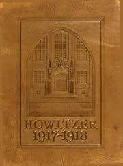 United States Military Academy West Point Howitzer Yearbook West Point Ny Class Of 1918 Cover