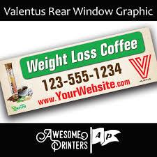 Valentus Vehicle Window Decals