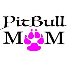 Amazon Com Owntheavenue Pitbull Mom Decal Sticker Car Window Bumper Wall I Love My Rescue Dog 4 Inches Automotive