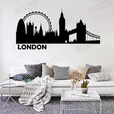 London Landmarks Places Wall Decal Sticker Quote Wall Decals Stickers