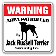Jack Russell Terrier Security 3 Pack Of Vinyl Decal Stickers 4 X 4 Walmart Com