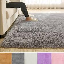 4 Sizes Soft Comfy Area Rugs For Bedroom Living Room Fluffy Shag Fur Carpet For Kids Nursery Plush Shaggy Rug Fuzzy Decorative Floor Rugs Contemporary Luxury Rug Walmart Com Walmart Com