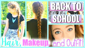 makeup hair and outfit ideas
