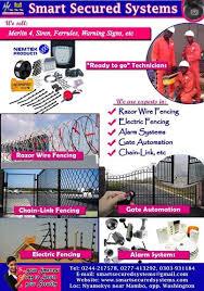Electric Fence Ghana List Of Ghana Electric Fence Companies