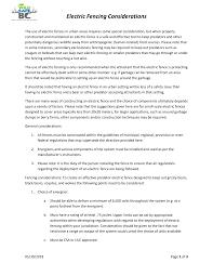Https Wildsafebc Com Wp Content Uploads 2018 06 Wsbc Electric Fence Guidelines 2018 06 01 Pdf