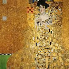 Amazon Com Portrait Of Adele Bloch Bauer By Gustav Klimt Wall Decal Peel Stick Removable 18 X 18 Home Kitchen