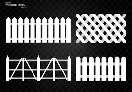 Wooden Fence Set Isolated On Transparent Background Eps10 Royalty Free Cliparts Vectors And Stock Illustration Image 82227413