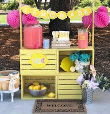 15 amazing diy lemonade stands