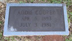 Addie Andrews Cooper (1893-1981) - Find A Grave Memorial