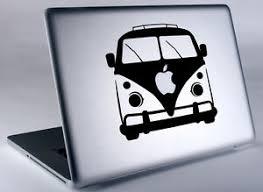 Vw Bus Hippie Volkswagen Apple Macbook Laptop Air Pro Vinyl Decal Sticker Skin Ebay