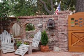 how to build a brick patio reclaimed